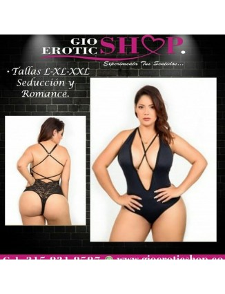 Lencería Tentación Curvy Talla L y XL B - 11 en gio erotic shop