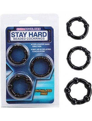 ANILLOS RETARDANTES STAY HARD - 1