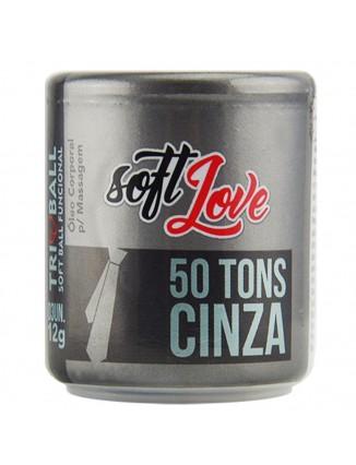 Explosiva Soft Ball Triball - 50 Tons de Cinza - Soft Love - 1