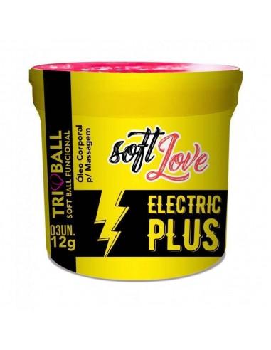 Soft Ball triball Eletric Plus - Vibración intensa con 3 unidades - Soft Love - 1