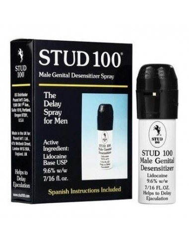 Stud 100, Potente Retardante Sexual En Spray - Original 100% - 1