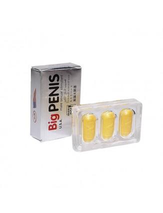 Potenciador Sexual Big Penis X 3 pastas  Agrandador - 1