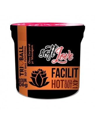 Tri Ball funcional - Facilit Hot Blackout 4x1 - 1