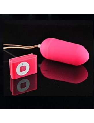 Huevo Vibrador Inalámbrico Con Mando a Distancia MP3, 20 Velocidades - 2