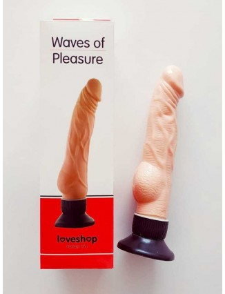Vibrador waves de chupa color piel rosado en gio erotic shop