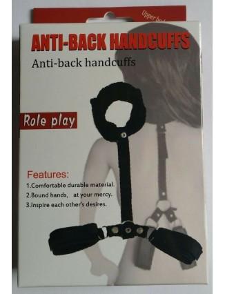 Esposas de cuello y manos anti back handcuffs Gio erotic shop