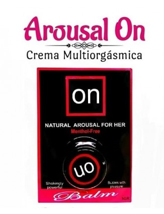 Multiorgasmico on arousal crema femenino - 1