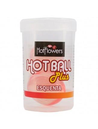 HOT BALL BOLINHA ESQUENTA 04GR HOT FLOWERS - 1